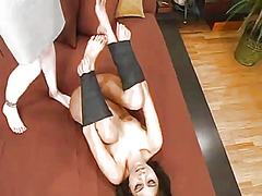 Sensuous nyomi marcela has punished by adrianna nicole