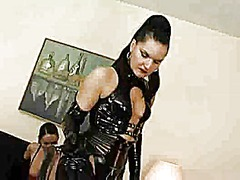 Domme returns to punis... video