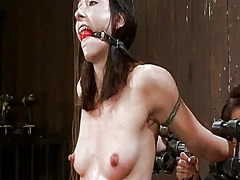 Yobt Movie:Blonde and dark haired dominat...