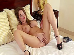 Thumb: Emily addison with big...