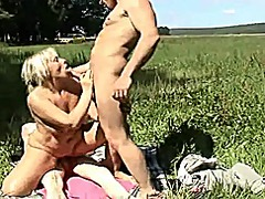 threesome, mature, amateur, public,