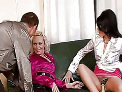 group, blowjob, straight, cumshot
