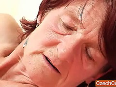 Ah-Me Movie:Plain gramma matylda spreads a...