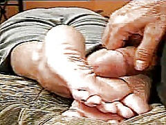 Xhamster Movie:Cuming on nice soles