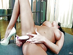 PinkRod Movie:With gigantic hooters and clea...