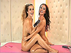 Caty and lori on bs video