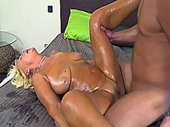 Xhamster Movie:Blonde granny banged by younge...