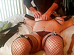 Amateur slave tortured... preview