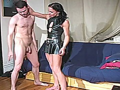 Relly brutal ballbusting video