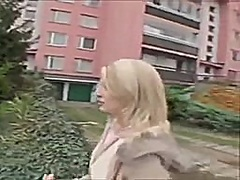 Czech Public Gal from Private Home Clips