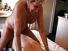 Thumb: Horny granny riding cock