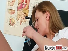 Naughty nurse olga bar...