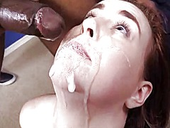 Interracial anal gangb... video