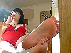 Voyeur Hit Movie:Showing Off The Soles Of My Fe...