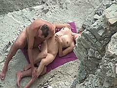 Voyeur on public beach sex... - 04:05
