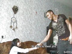 Private Home Clips Movie:Selling gf to an ebon boyfrend