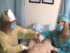 Nurse handjob: latex g... - Xhamster