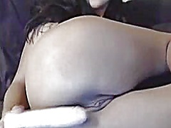 Private Home Clips Movie:Unbelievably hot brunette hair...