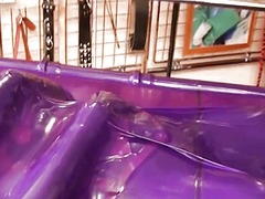Xhamster Movie:Latex devices testing