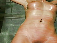 Xhamster Movie:Tied with chaines and whipped