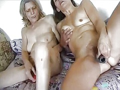 Xhamster Movie:Two mature lesbians and nice s...