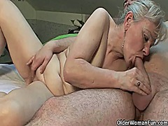 Xhamster Movie:Grandma will drain your balls