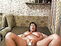 Fat mother masturbating