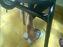 Private Home Clips Movie:Candid Foot Soles Solas - Jess...