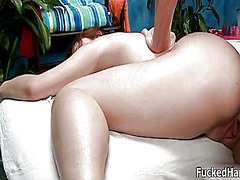 Nasty redhead gets hor... video
