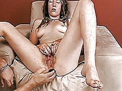 hot unshaved chick wit...