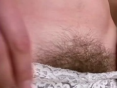 Sexy hairy english gir...