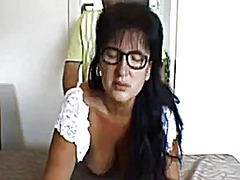 Mature woman fucked by doggy style an...