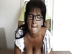 Mature woman fucked by...
