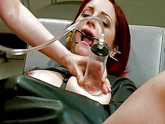 Lesbie domination by doctor maitresse madeline for phoenix askani
