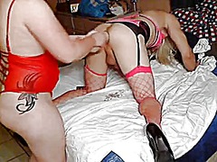 Sissy fisted and fucke... video