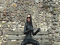 Voyeur Hit Movie:latex and leather