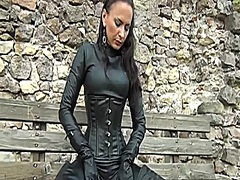 latex and leather video