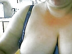 mother milking on livecam video
