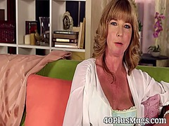 Mature babe is a hot s... video