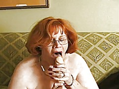 Thumb: Granny showing some fun