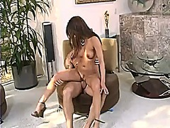 Charmane star rides a throbbing rod