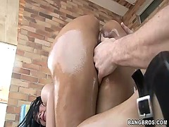 Paola gets her oiled a... preview