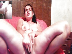 Thumb: Clara fucks herself on...