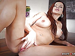 Orgasmic quivering milf video