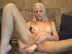 See: Sexy granny loves to play