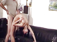 Tube8 Movie:Cute boneless contortionist fu...