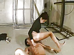 Japanese sweet ass domination