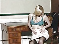 British blonde karolin...