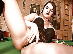Goth girl on the billa... video