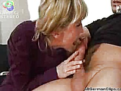 Blonde german mature a...